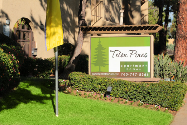 This Exteriors 2 photo can be viewed in person at the Teton Pines Apartments, so make a reservation and stop in today.