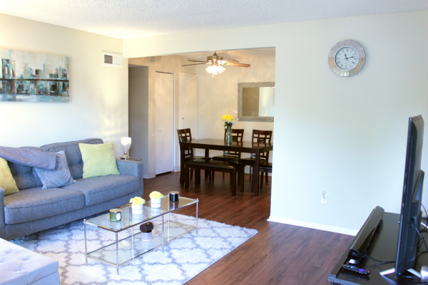 This Interiors 14 photo can be viewed in person at the Teton Pines Apartments, so make a reservation and stop in today.