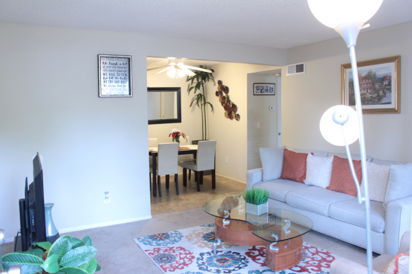 This Interiors 11 photo can be viewed in person at the Teton Pines Apartments, so make a reservation and stop in today.