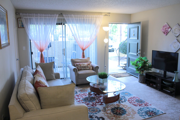 This Interiors 5 photo can be viewed in person at the Teton Pines Apartments, so make a reservation and stop in today.
